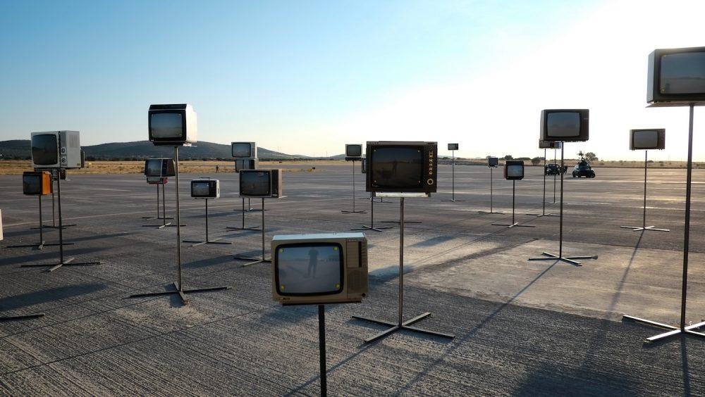 SELF-PORTRAIT ON TV